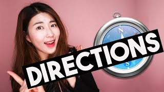 TOP 10 Must-Know Korean Phrases about Directions!! | 한국언니 Korean Unnie