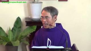 Bài giảng Chúa Nhật V Mùa Chay - Cha Laurensô