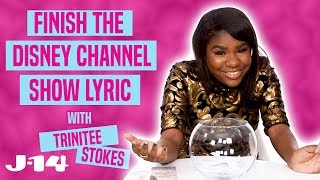 K.C. Undercover's Trinitee Stokes Sings Disney Channel Show Theme Songs | Finish the Lyrics