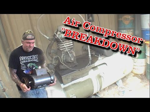 How To:  Replace An Electric Motor On An Air Compressor