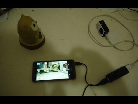 GoPro hero3 + USB HDMI capture card work on HTC Desire 820 by APK