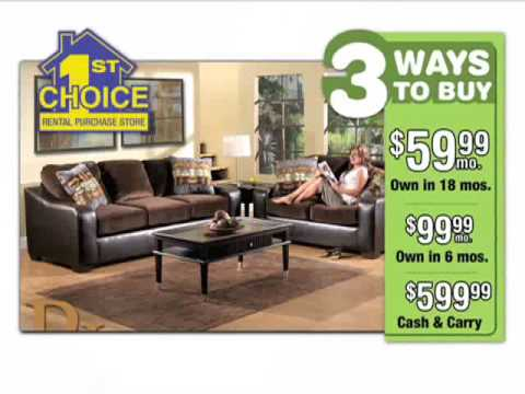 1st Choice Rent To Own Furniture TV Commercial(1061A)
