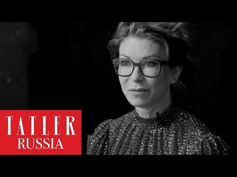 Ольга Слуцкер поздравляет Tatler с юбилеем
