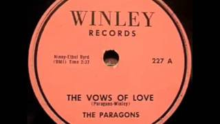 PARAGONS  The Vows of Love  1957