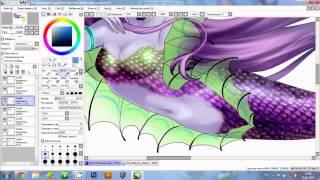 Winx club. Drawing lineart - Siren of Zenith part 3