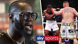Deontay Wilder's prediction for Andy Ruiz Jr vs Anthony Joshua II