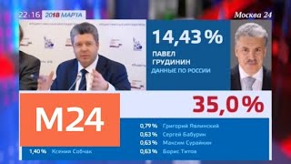 Смотреть видео Независимые наблюдатели контролируют подсчет голосов - Москва 24 онлайн