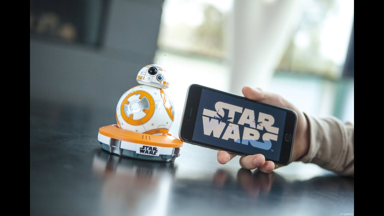 BB8 AppEnabled Droid  Built by Sphero  YouTube
