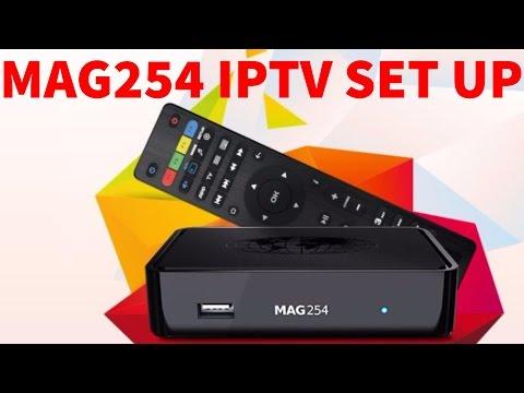 Mag 254 Multiple Portal Set up ( IPTV , KODI , STALKER , PVR )