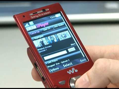 W995 Wi Fi and iPlayer