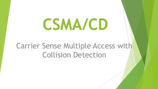 CSMA CD in Hindi Urdu (Carrier sense multiple access with collision detection)