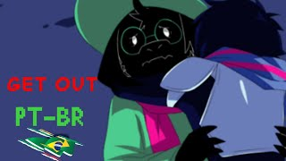 (deltarune) GET OUT PT-BT
