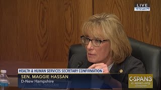 Sen. Hassan Presses HHS Sec. Nominee Alex Azar on Need for More Funding to Fight the Opioid Crisis