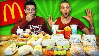 ACHETER TOUS LES PRODUITS DE LA CARTE MCDO [+10'000 calories] (feat. Alan FoodChallenge)