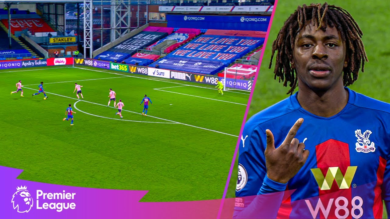 Eberechi Eze GLIDES from own half & scores SENSATIONAL solo goal | Classic goals from MW35 fixtures
