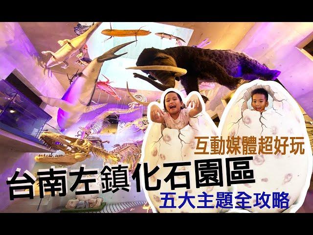 ⛵️台南◾化石主題博物館【臺南左鎮化石園區】,天空漂浮動物演化,五大主題館跟著玩一圈