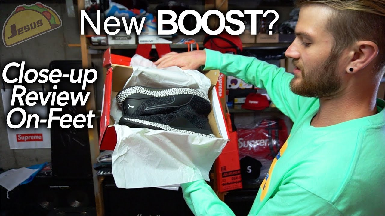 ae797b89f9ce Puma Hybrid Runner  NEW BOOST  detailed close up look   review - YouTube