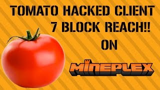 [1.8-1.8.9] TOMATO HACKED CLIENT | 7 BLOCK REACH / OPTIFINE [FREE D/L]