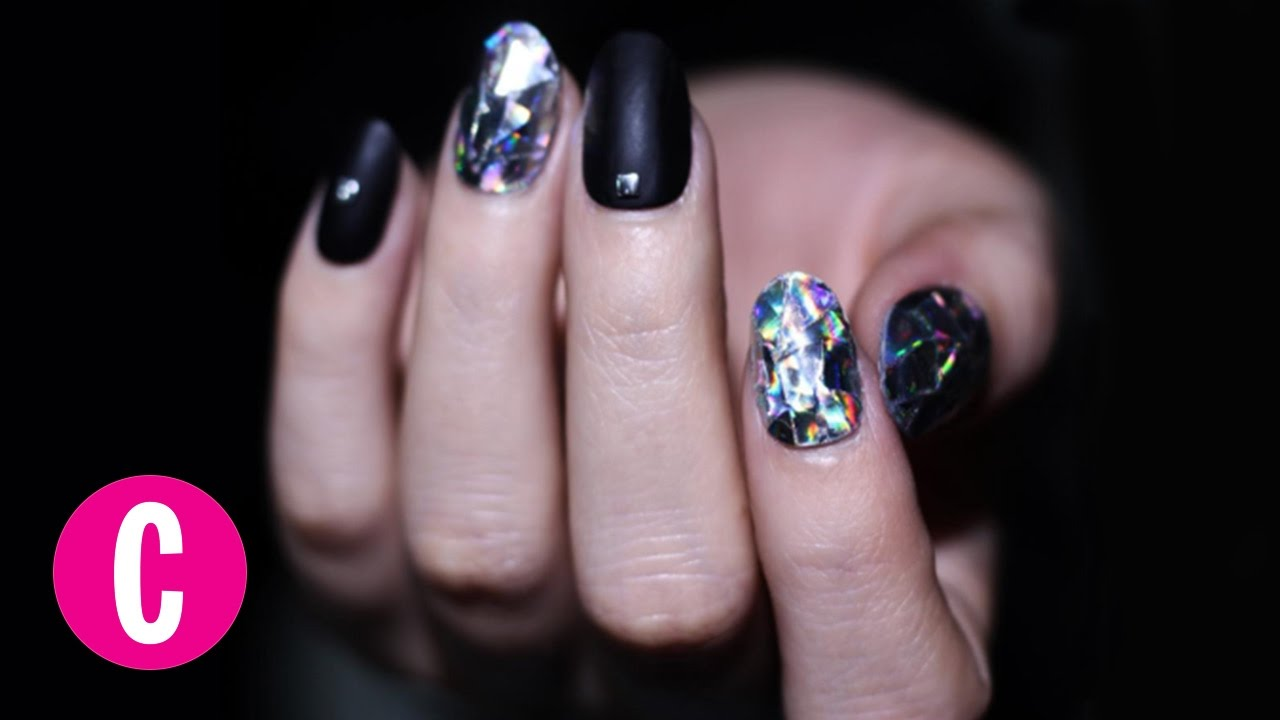 These Diamond Nails Are Taking Nail Art to a Whole New Level ...
