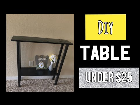 DIY Wood Table under $25