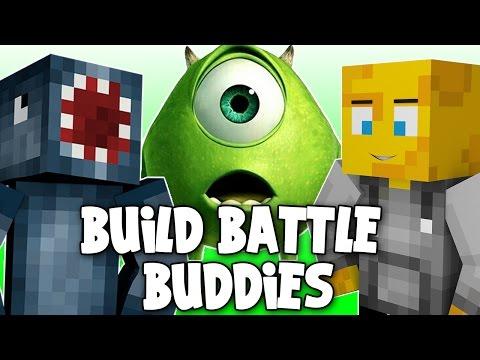 Minecraft - Build Battle Buddies! MONSTERS INC! [1]