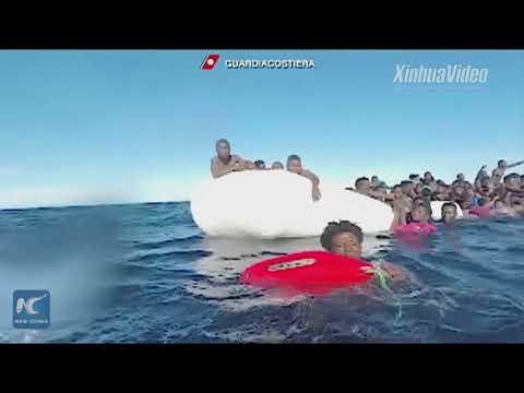 Desperate journey: 64 migrants feared dead in shipwreck off Libya