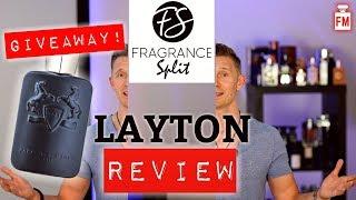 Parfums de Marly LAYTON Fragrance Review | Fragrance Split Giveaway