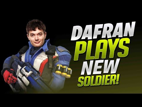 Dafran Plays NEW Soldier 76! - Overwatch thumbnail