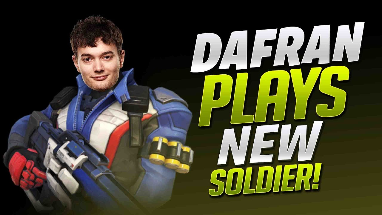 Dafran Plays NEW Soldier 76! - Overwatch
