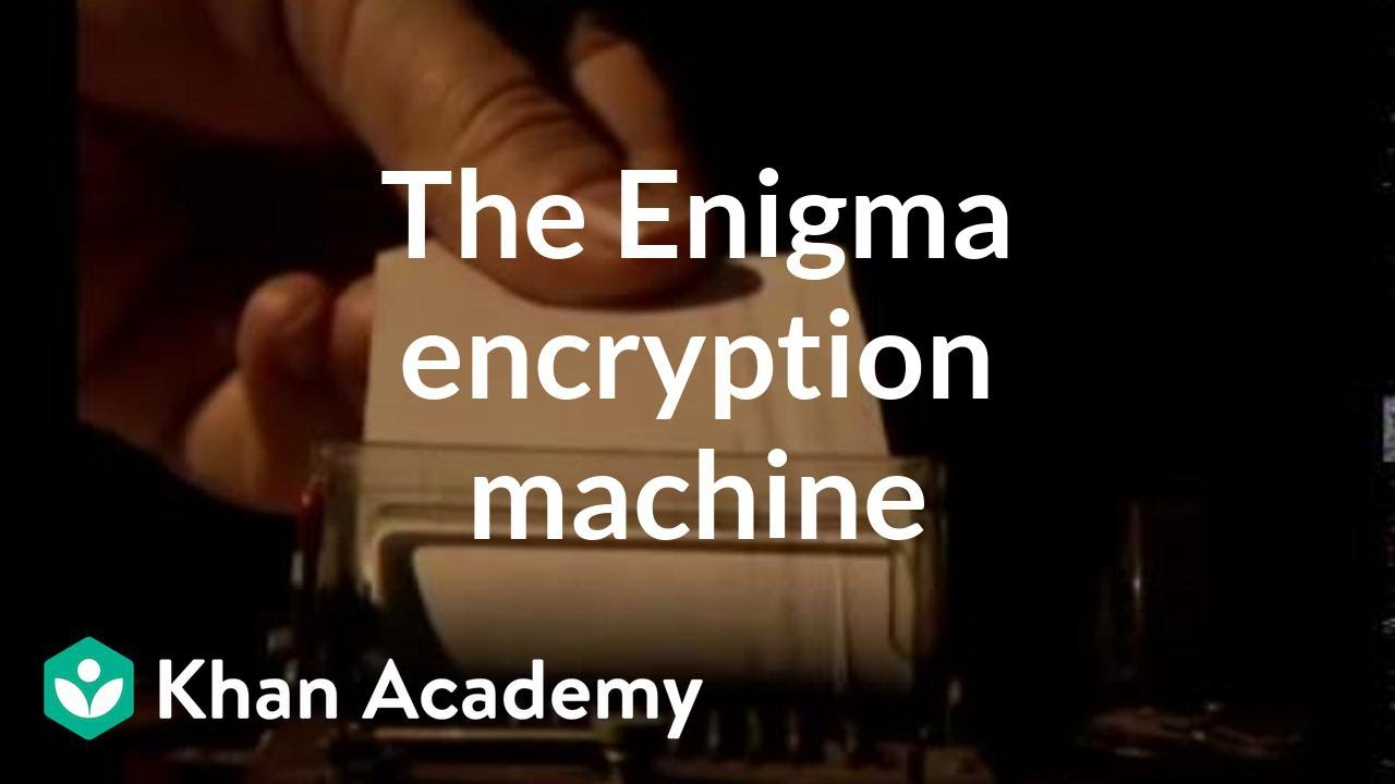 The Enigma encryption machine (video) | Khan Academy