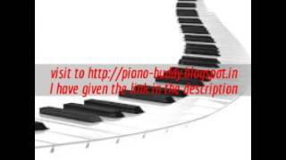 Hindi song piano notes