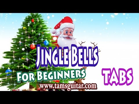 Jingle bells  guitar lesson for Beginners and Kids | Christmas Carol guitar tutorial