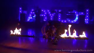 Fire show / Kenning Productions 2017