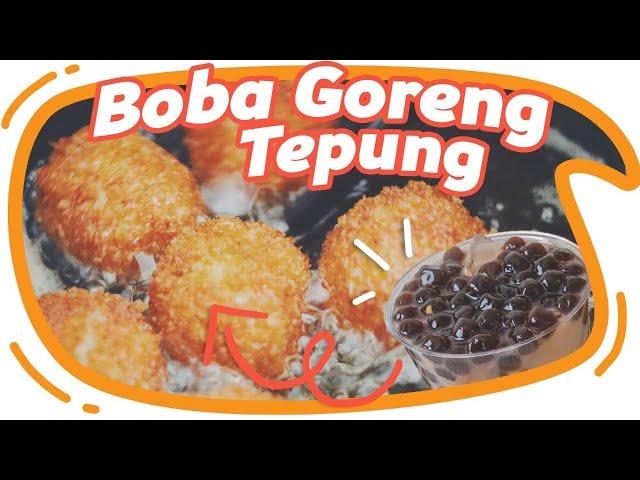 Boba Di Goreng Tepung Wkwkwkw ! EnaK Gak Ya!? #EGY