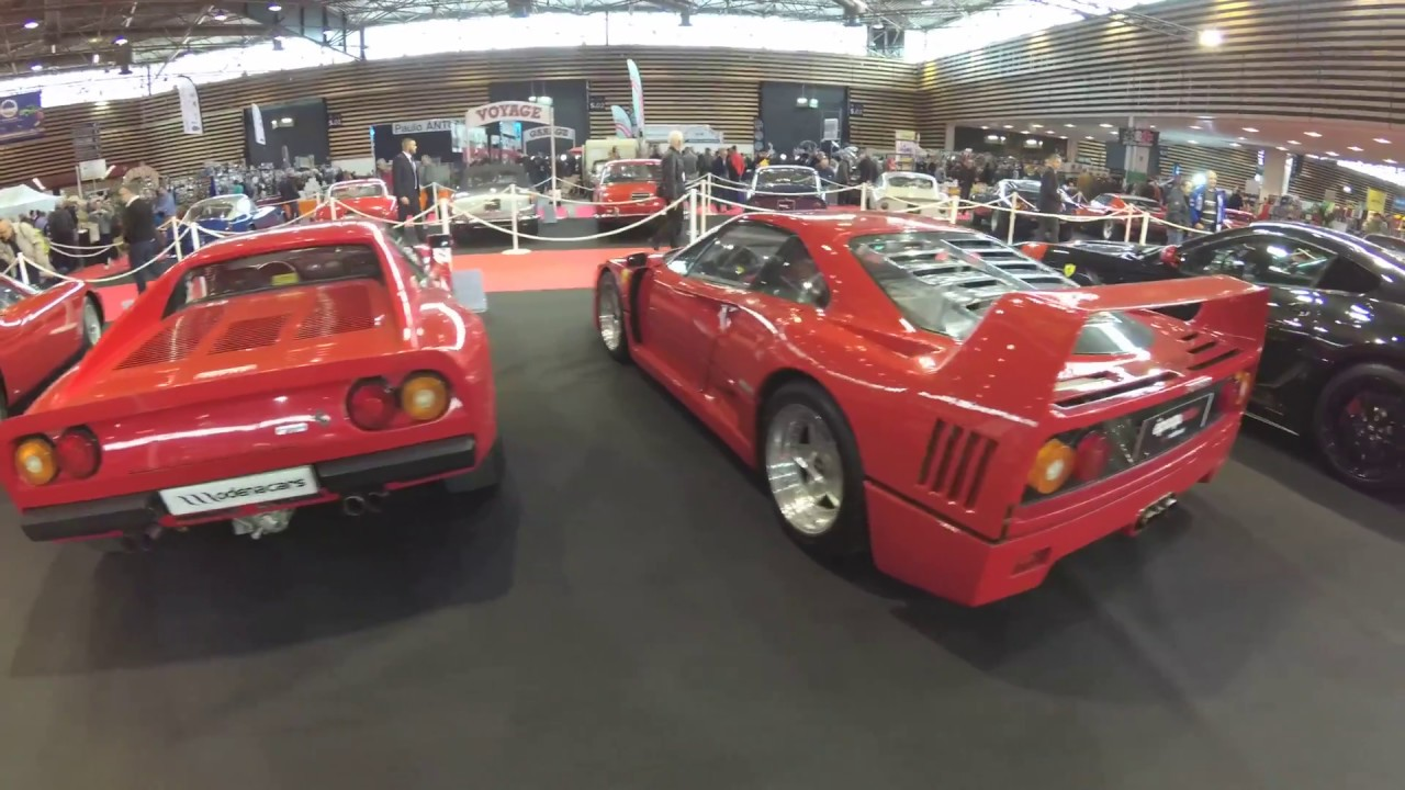 salon epoqu 39 auto lyon 2017 exposition ferrari part 2 youtube
