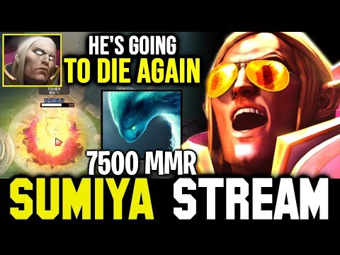 How SUMIYA outplayed 7K Morphling with Sunstrike | Sumiya Invoker Stream Moment #800