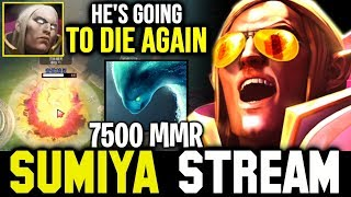 How SUMIYA outplayed 7K Morphling with Sunstrike | Sumiya Invoker Stream Moment #800