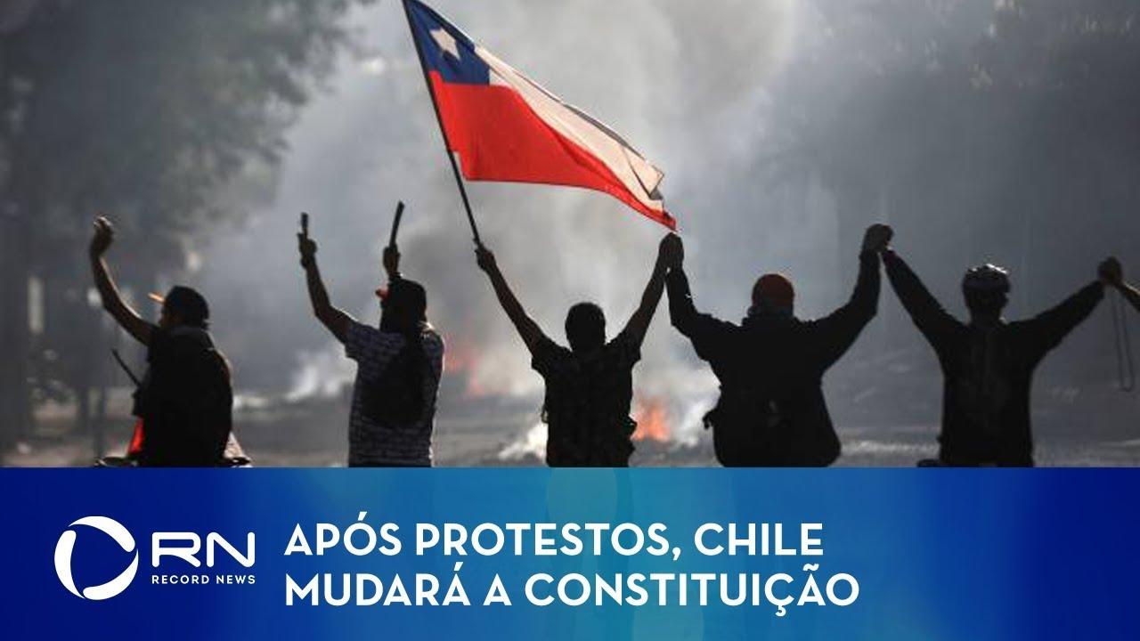 Chile anuncia plebiscito para nova Constituição em abril de 2020