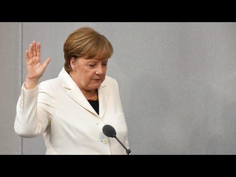 Angela Merkel es investida por cuarta vez como canciller de Alemania