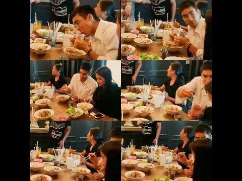 NadechYaya: max so fin eat together 231017