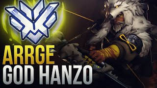 "Best Of ""Arrge"" HANZO GOD - Overwatch Montage"