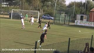 Eccellenza Girone A Atletico Cenaia-Grosseto 0-1