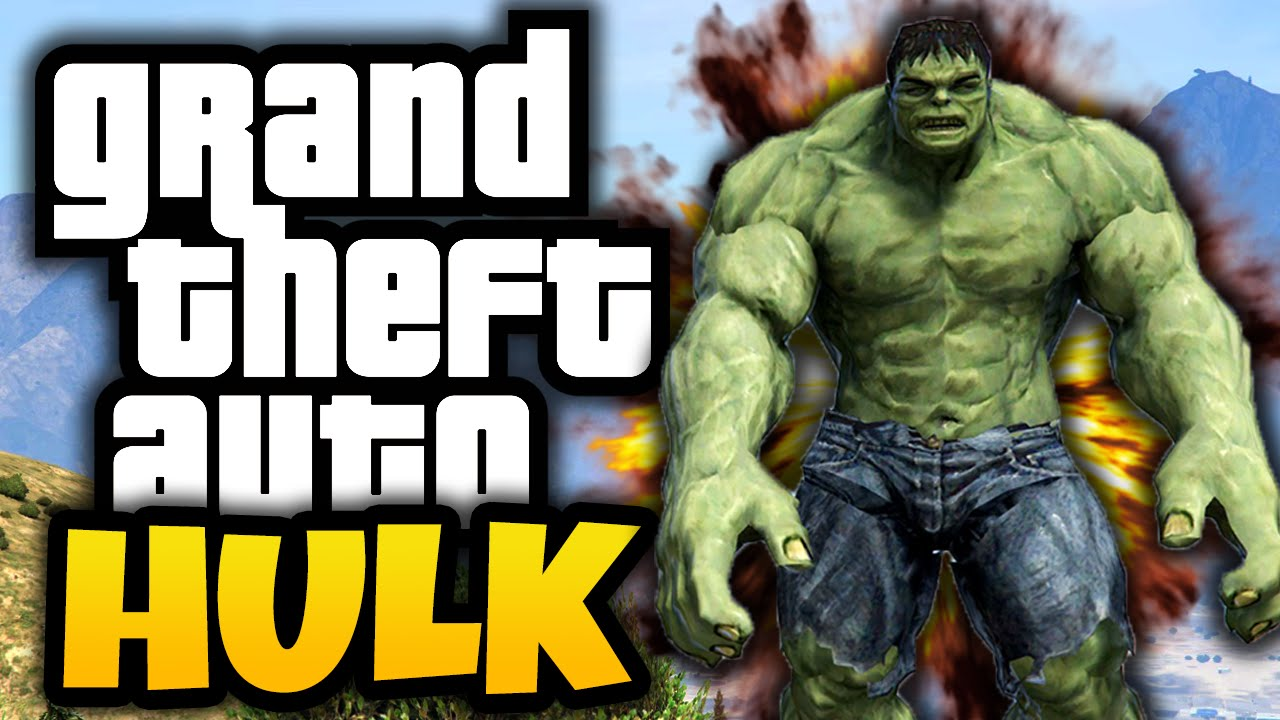 gta 5 hulk in gta gta 5 hulk mod funny moments youtube. Black Bedroom Furniture Sets. Home Design Ideas