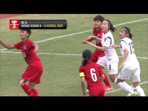 HONG KONG - KOREA REP Highlights (Women's)