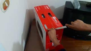 UNBOXING canon pixma MG2540S