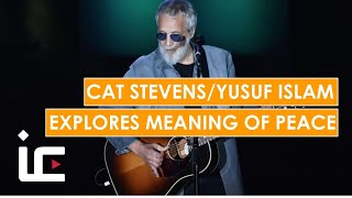 Muslim revert Yusuf Islam aka Cat Stevens explores meaning of peace with UK university