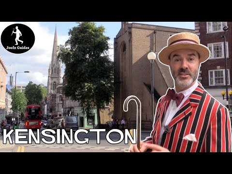 Rather Splendid Walking Tour Of Kensington - London