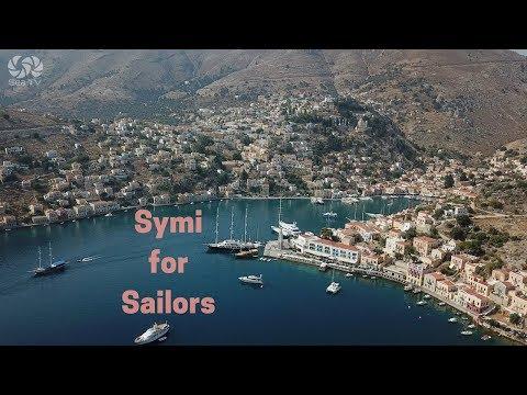 Sailing in greece, Symi.