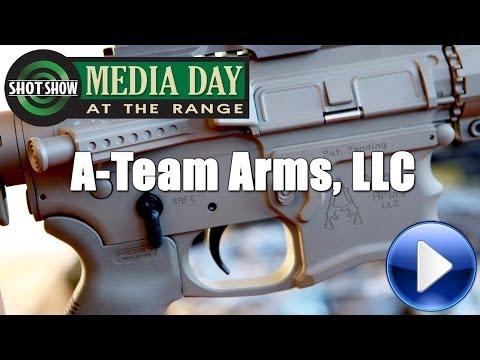 A Team Arms @ 2014 SHOT Show Media Day