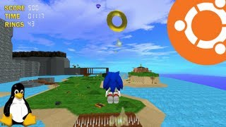 Gameplay of sonic the hedgehog 3d on ubuntu 13.04 (fullscreen) at 1920x1080, and also windowed-mode 1600x900. end video is a short how-to on...